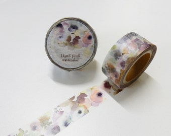 Flora watercolor washi tape 20mm x 10M