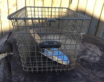 Vintage Metal Locker Basket #208 American Playground Device Co