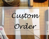 Custom Order for Hrafnhildur