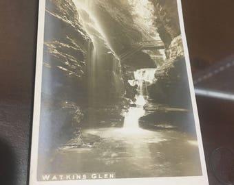 Watkins Glen New York rppc unused