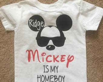 Mickey is My Homeboy/Minnie Homegirl