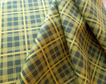 Fabric Yardage - Quilting Weight Cotton - Denyse Schmidt - Chicopee - Simple Plaid - Lime - PWDS032.LIMEX