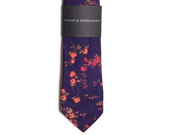 Men's tie, Liberty print Elizabeth