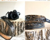 25% off sale - Vintage Camera Strap  //  Leather Camera Strap // Interchangeable Camera Strap  // THE POLARIS