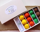 MADE TO ORDER- Boxed 'Candy' Seed Bomb Gift Set- 'Candy' You Can Cultivate - 4 different seed themes to choose from