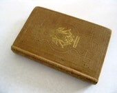 Vintage/Antique 1846 Book, Album of Love, Published by Elias Howe, Lovely Small Book of Love Poems