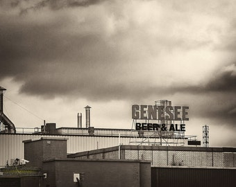 Genesee Brewery Fine Art Photographic Print