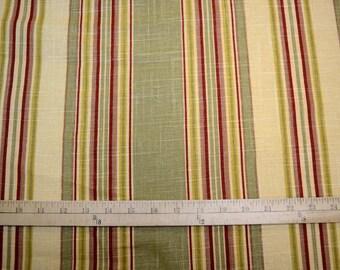 Stripe Ensemble Tea Stain Waverly Fabric