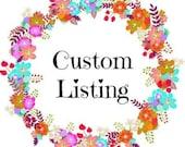 Custom order for mDc23