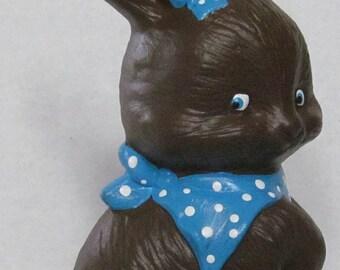Ceramic Chocolate Easter Bunny