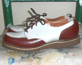 Vintage Golf Shoes Golf Women's Golf Sport Shoes Cleats Size 4 B