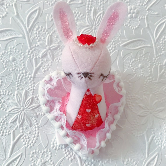 Tiny Bunny Faux Taxidermy