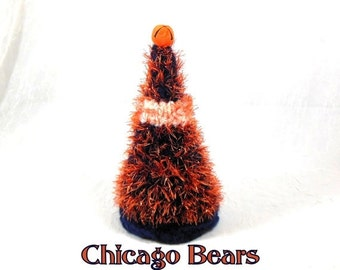 2016 Holiday SALE Chicago Bears Colors Small Christmas Tree for Desk, Office, Home Decor
