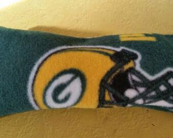 Green Bay Packers Fleece Rice Eye Pillow