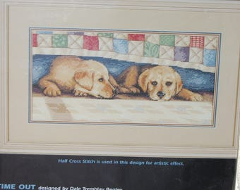 TIME OUT Cross Stitch Pattern by Dimensions