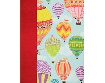 Baby Keepsake Memory Book  Hot Air Balloons