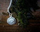 Alaska Tiny Totem Necklace Sterling Silver Ready To Ship