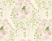 END of BOLT -  Far Far Away Frog Prince in Pink 1 yard and 12 inches - by Heather Ross for Windham Fabrics