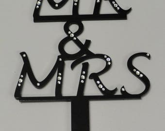 Mr. and Mrs. Crytal Monogram