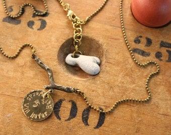 Sticks & Stones Necklace