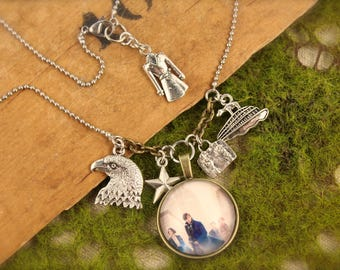Fantastic Beasts Inspired Newt Charm Necklace SALE