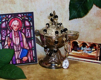 Perfect Gift for Priests - Unbreakable Catholic Chaplet of St. John Vianney - Patron of Preists