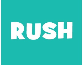 Reserved Listing RUSH