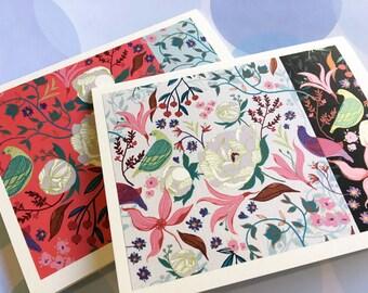 Card Set, Stationery, Note cards,Set of 6