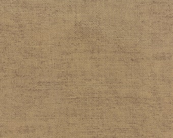Burlap Print in Tan from Because of the Brave Collection by Moda