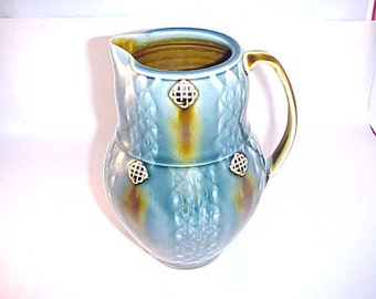 Celtic Design Pottery Pitcher