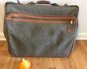 HARTMANN GARMENT BAG Luggage Tweed Hartmann Suitcase Luggage at Modern Logic