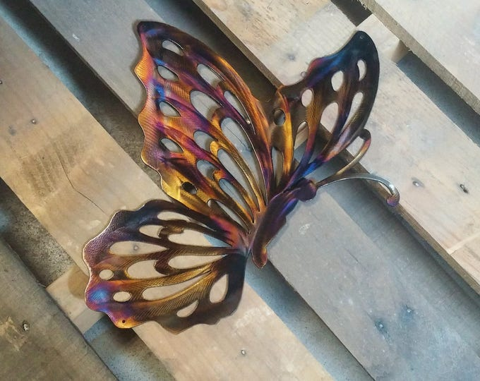 Butterfly Metal Art Wall Decoration Sign