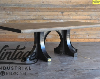 Vintage Industrial Liberty Dining Table