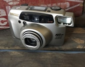 Pentax IQ Zoom 160 - Classic 35mm Point and Shoot Film Camera - Long 160mm Zoom!