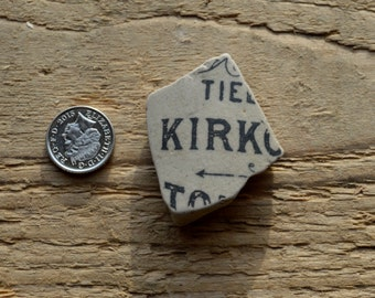 KIRK - Ginger Beer Bottle Shards - Sea Pottery - Name - Supplies (6001)