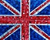 Painted by BREASTS 685 Cheeky ~ Marcey Hawk 16x20 Breast Boob Body Art Union Jack UK