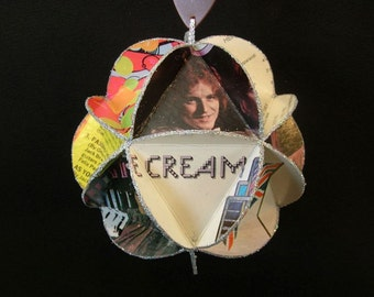 Cream Band Album Cover Ornament Made Of Record Jackets - Eric Clapton