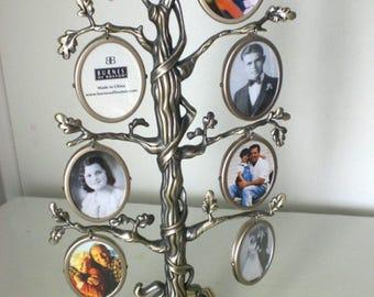 Photo holder, Frame, Family Tree, Metal