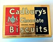 Vintage Cadbury's Chocolate Biscuit Tin