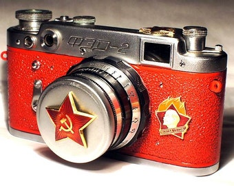 1957! Made in USSR FED-2 camera Russian Leica with -=Aways Ready=-