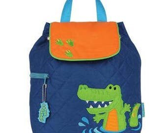 Alligator Backpack Personalized