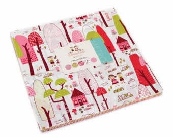 """Just another walk in the woods 10"""" fabric layer cake by Stacy Iset Hsu for Moda"""