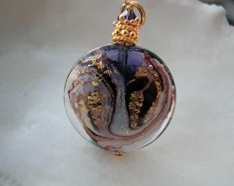 Purple Murano Necklace