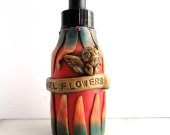 """1 ounce Bottle with dropper """"Angel Flowers"""" by Marie Segal"""