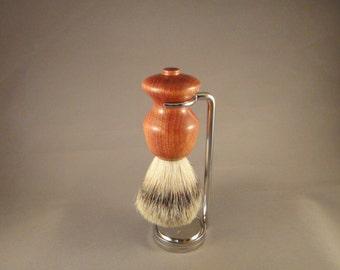 Wet Shaving Deluxe Brush Set - Bloodwood Handle