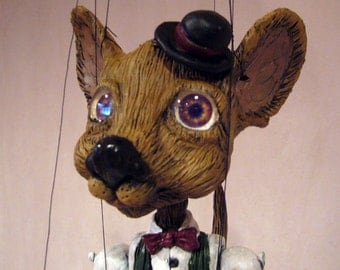 Hinky Dink the Chihuahua  one-of-a-kind Marionette MADE TO ORDER