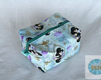 Jasmine Inspired Utility/Make Up Bag