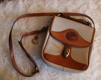 Vtg Dooney and Bourke Messenger Shouler Bag