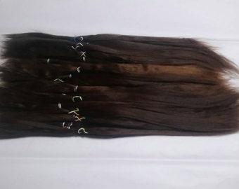 BJD / MSD / Combed Doll Hair / Re root / Combed Suri Alpaca / Minifee / Reborn /  Wig / Supplies (3013)