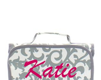Personalized hanging Cosmetic Bag Purse Great for your Bridesmaid Gifts, Thank You Gifts, Birthday Gifts